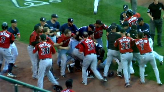 Brawl Erupts in Minor League Game