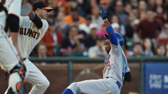 Dodgers best Peavy, Giants to cap off sweep