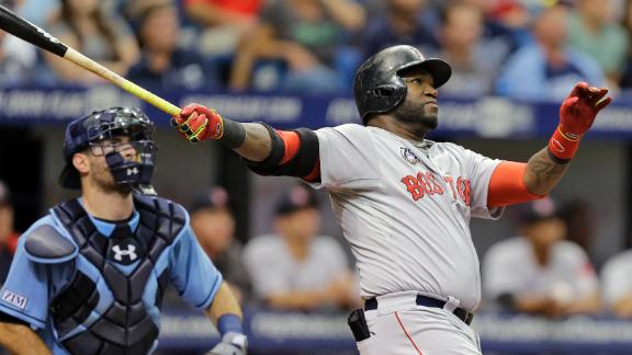 Ortiz's Big Blast Lifts Red Sox