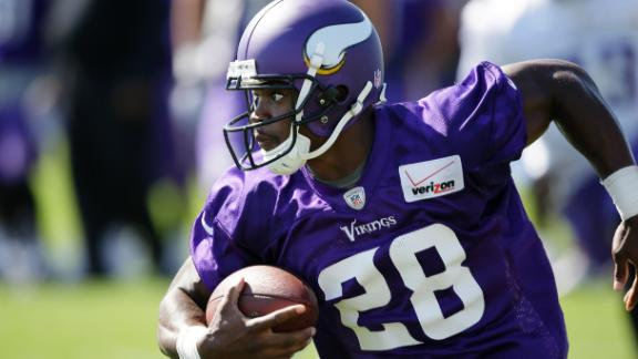 Peterson's New Role In Vikings' Offense