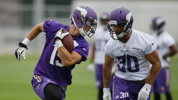 Thielen Impresses At Vikings Training Camp
