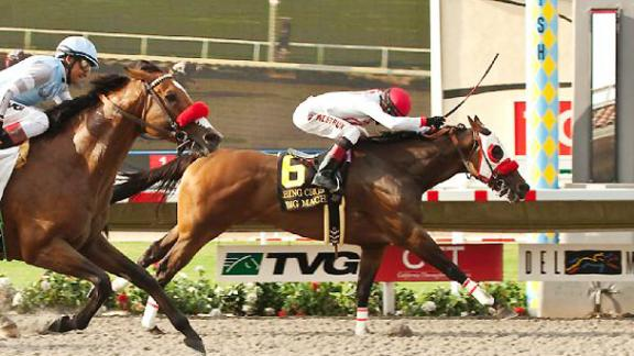 Route vers la (31e) Breeders' Cup 2014 - Page 2 Com_140728_Bing_Crosby_Stakes