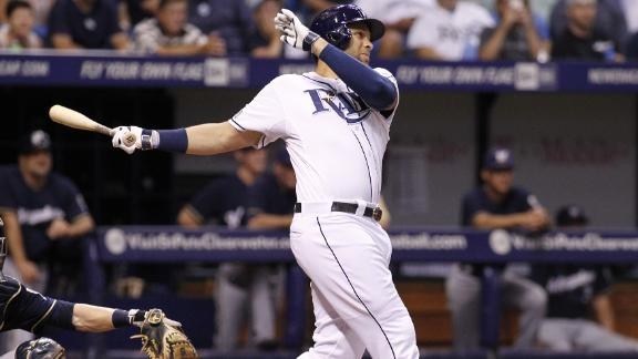 Rays Hold Off Brewers