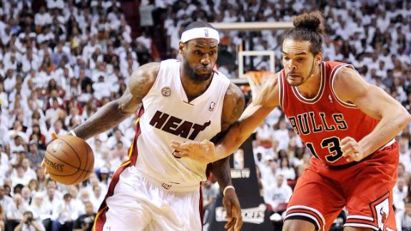 Noah Willing To Go Through LeBron For Title
