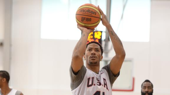 Video - Derrick Rose Back On Court For Team USA