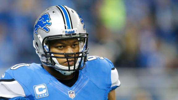Lions Table Suh Contract Talks