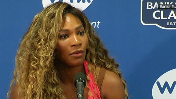 Serena Ready To Play Again