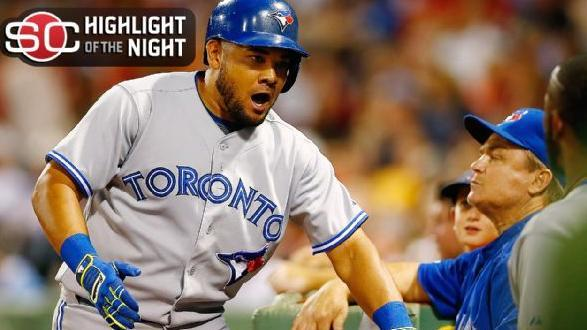 Blue Jays Fly By Red Sox