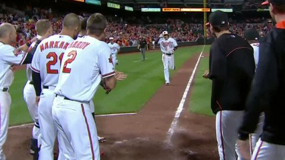 Video - Orioles Walk Off Against Angels
