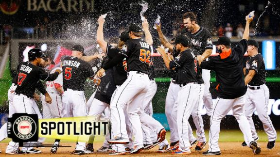 Video - Marlins Rally For Walk-Off Win