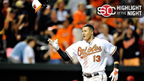 Orioles Walk Off Against Angels