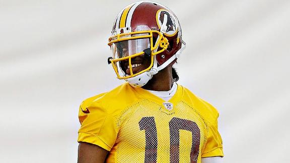 Robert Griffin III Scoffs At Zone Read Talk