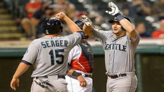 Zunino Homer Lifts M's Past Indians
