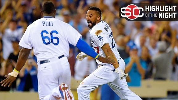 Dodgers Walk Off With Win