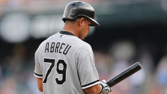 Video - Abreu Extends Hit Streak