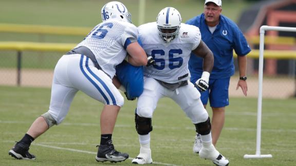 Colts G Thomas Suffers Quad Injury