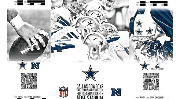 Cowboys Have Already Mailed Playoff Tickets