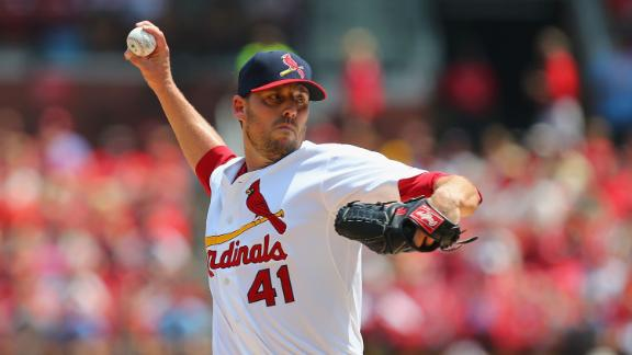 Lackey Strong In Debut, Cardinals Rally