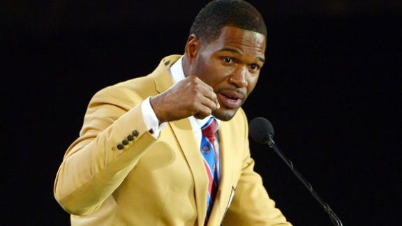 Strahan: 'Improbable Hall Of Famer'