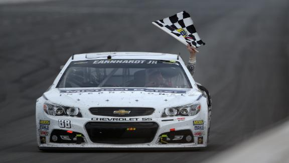 Earnhardt Sweeps At Pocono