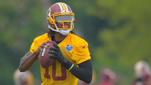 RG III Hopes To Talk To Brady