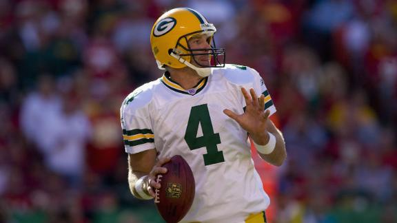 Packers To Induct Favre Into Hall Of Fame