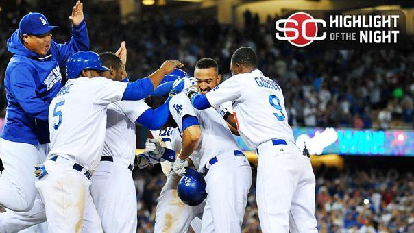 Dodgers Walk Off In Wild Fashion