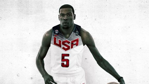 Durant Withdraws From Team USA