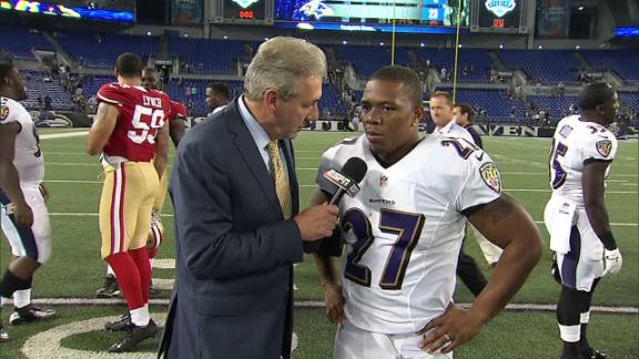 Video - Rice: 'It Felt Good To Get Out There'