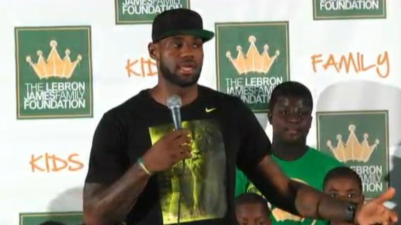 LeBron Talks Love Impact