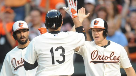 Orioles hit 6 home runs in rout of Cardinals