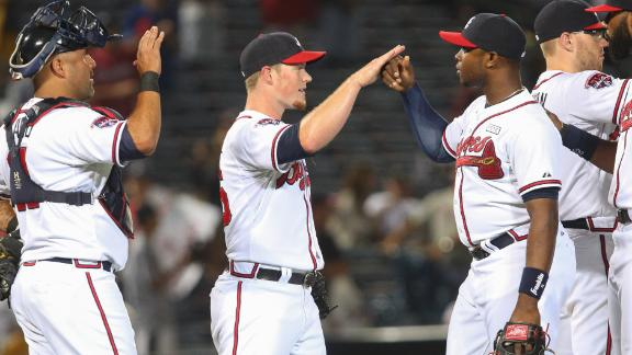 Upton Brothers Lead Braves