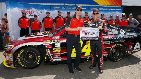 Jeff Gordon Takes Pole At Watkins Glen