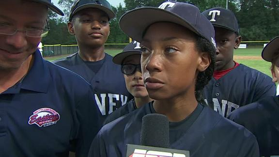 Mo'ne Davis Excited For Trip To Williamsport