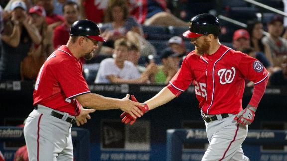 Nationals Top Braves In 11