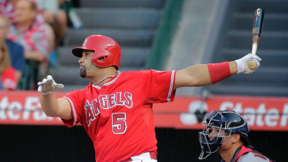 Pujols' Big Blast Lifts Angels In 19