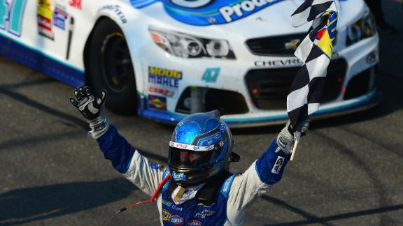 Allmendinger Gets First Career Win