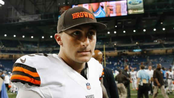 Manziel Talks Debut