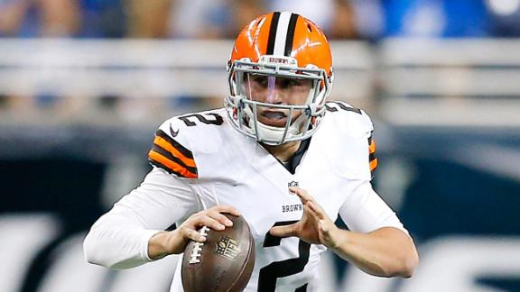 Browns Mixing Reps Between Manziel, Hoyer