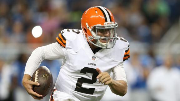 No Clear-Cut Favorite For Browns' QB Job