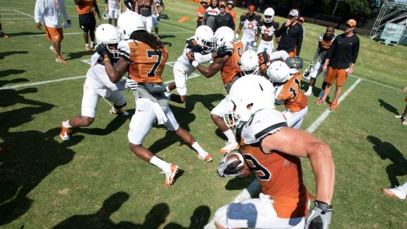 Keep Austin Wired: Longhorns Football Practice