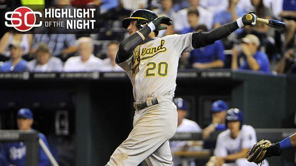 A's Snap Royals' Winning Streak