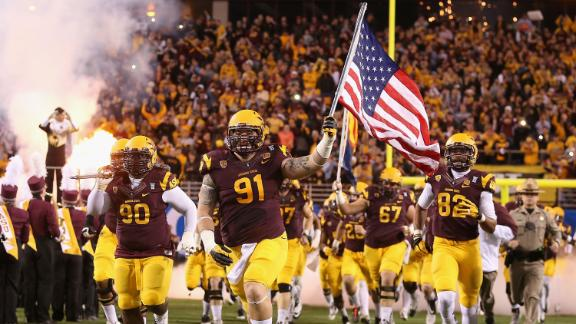 Arizona State Lineman Announces He Is Gay