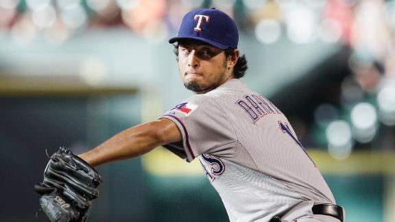 Yu Darvish Placed On 15-Day DL