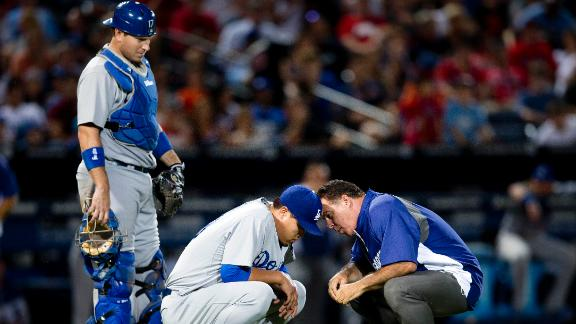 Dodgers' Ryu (glute) likely to miss start