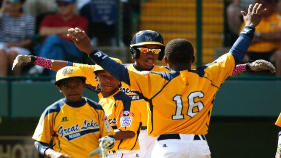 Little Leaguer Hits Three Home Runs