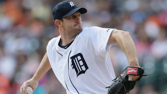 Scherzer's 14th win comes with 14 strikeouts