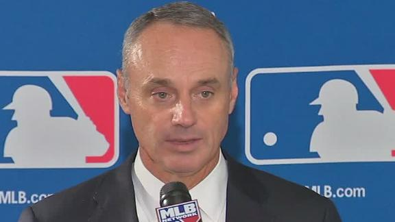 Rob Manfred On Being Elected MLB Commissioner
