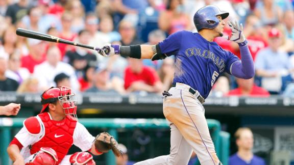 Rockies Lose Carlos Gonzalez For Rest Of Season