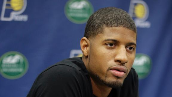 Video - Paul George Taking It One Day At A Time